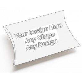 Window - Pillow Style Packaging Boxes