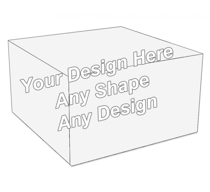Cardboard - Cake Bakery Packaging Box