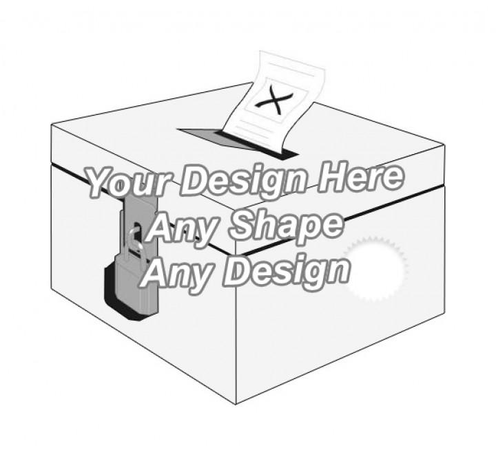 Die Cut - Ballot Boxes