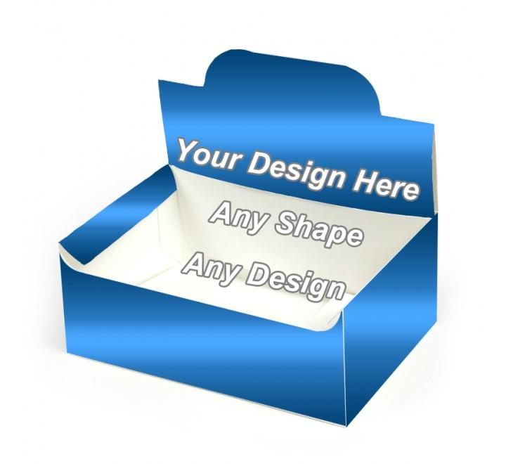 Gloss Laminated - Auto Bottom Display Lid Boxes