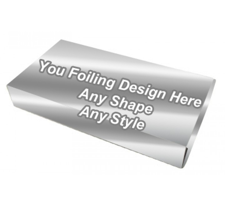 Silver Foiling - Latex Gloves Packaging Boxes