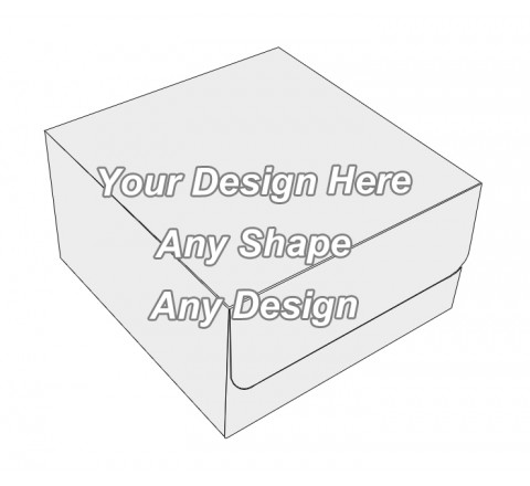 Cardboard - Tuck End Auto Bottom Cupcake Box
