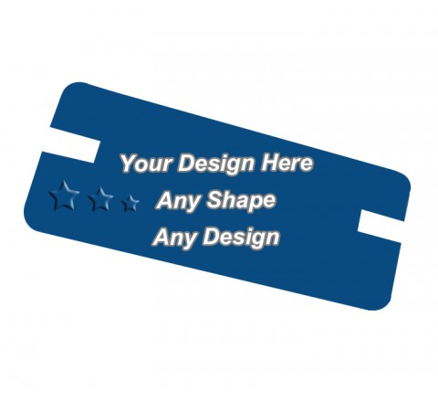 Embossed - Backing Card Printing