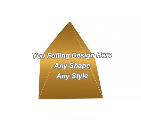 Golden Foiling - Pyramid Shape Boxes