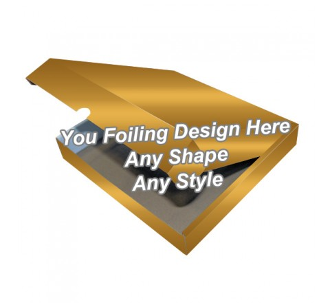 Golden Foiling - Snood Packaging Boxes