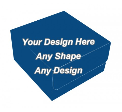 Matte Finish Boxes - Bakery Packaging Boxes
