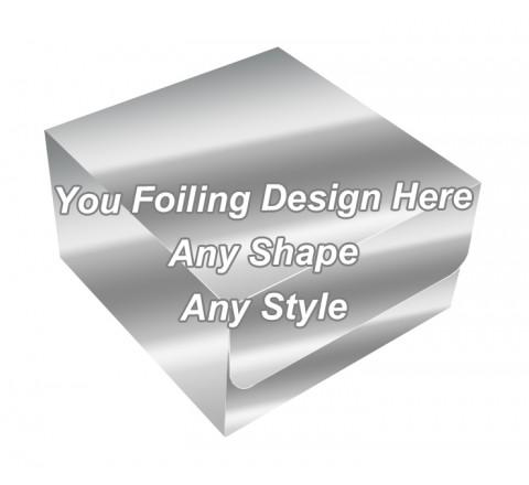 Silver Foiling - Tuck End Auto Bottom Cupcake Box