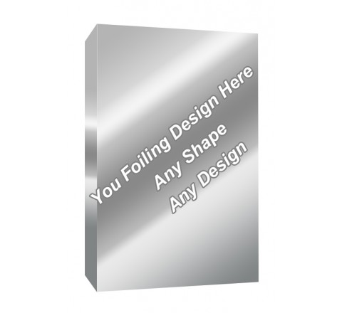 Silver Foiling - Hair Extensions Boxes
