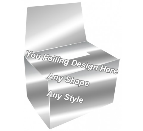 Silver Foiling - Charity Boxes